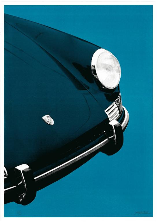 Image of Porche 911 Targa (blue blue)