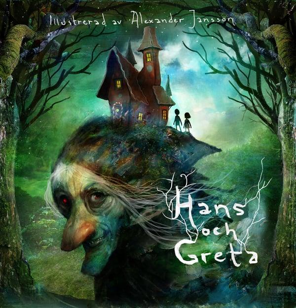 """Book - """"Hans och Greta"""" - Alexander Jansson Shop"""