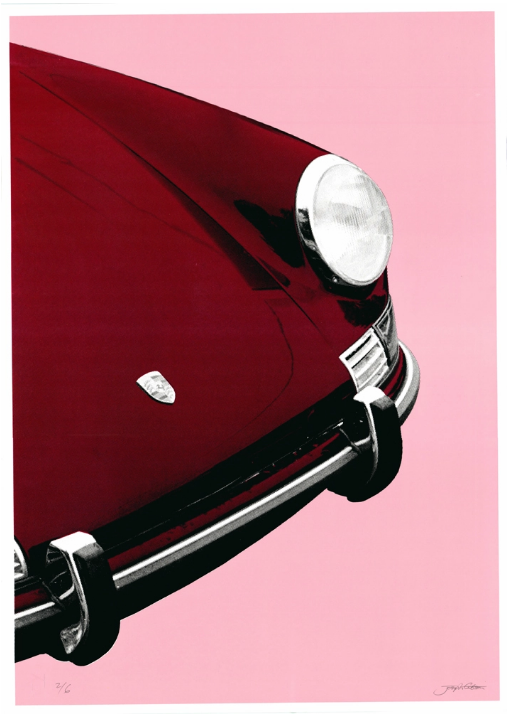 Image of Porsche 911 Targa (red pink)