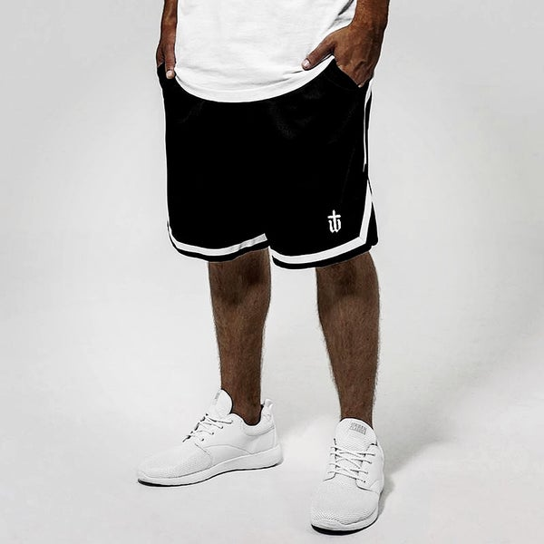 Image of BASKET SHORTS • BLACK