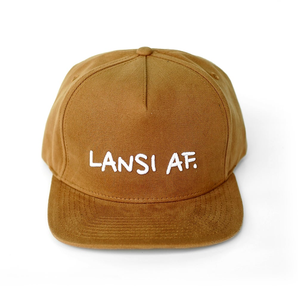 """Image of LANSI """"Abercrombie"""" 5-Panel Snapback (Khaki)"""