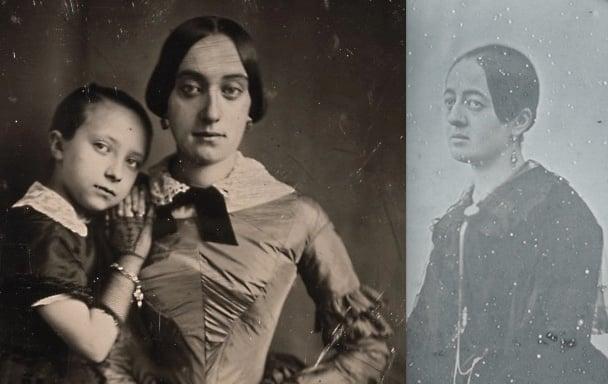 Image of Sabatier-Blot: daguerreotype portrait of Elisabeth Blaize, ca. 1845.