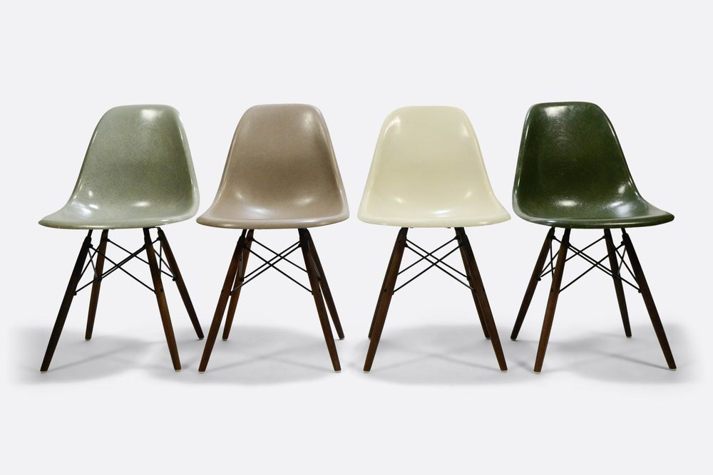 Image of Multiset of rare colors Eames DSW/DSX/DSR Herman Miller Vitra design