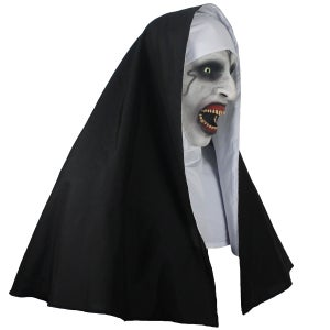Image of 2018 The Nun Head Cosplay Horror Movie Mask Valak Conjuring Scary Version 1
