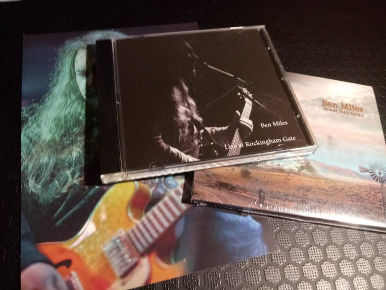 Image of Great Unknown & Live at Rockingham Gate CD bundle deal