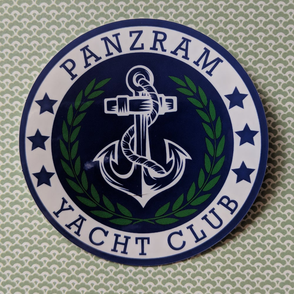 Image of Panzram Sticker - may take 2-4 weeks to ship