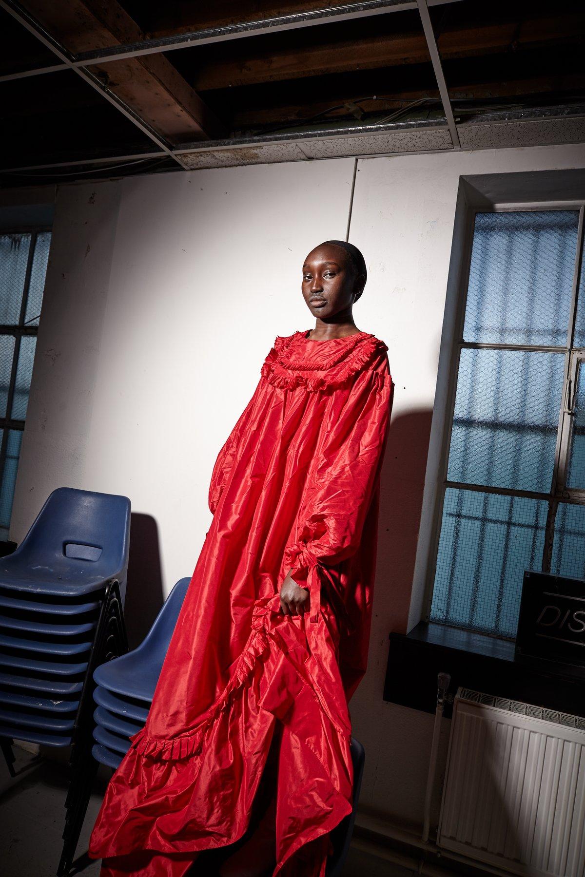 Image of Full length Cardinal Dress