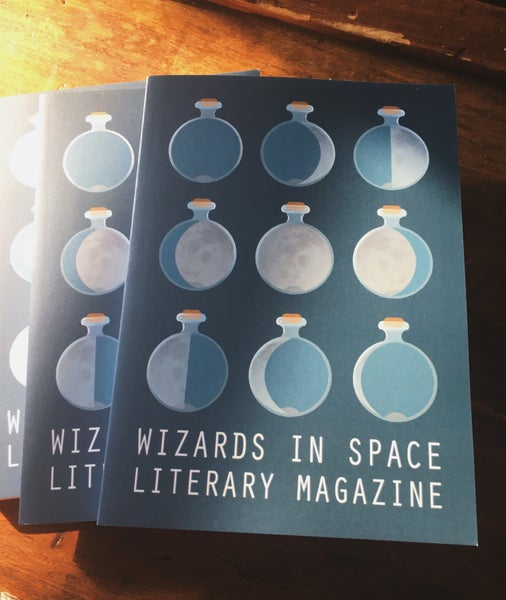Image of Wizards in Space Literary Magazine Issue 03