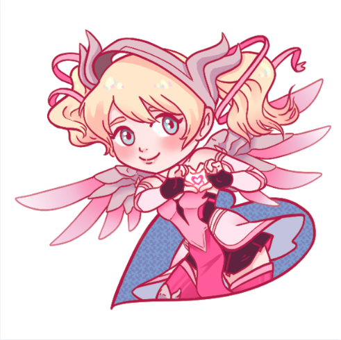 Image of Pink Mercy Sticker