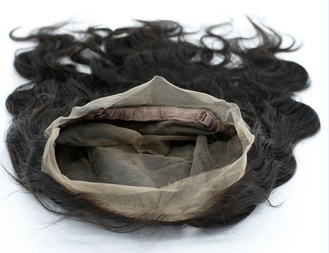 U Part, 3 Part Silk & Lace Based, Full Frontal & 360° degree Closures