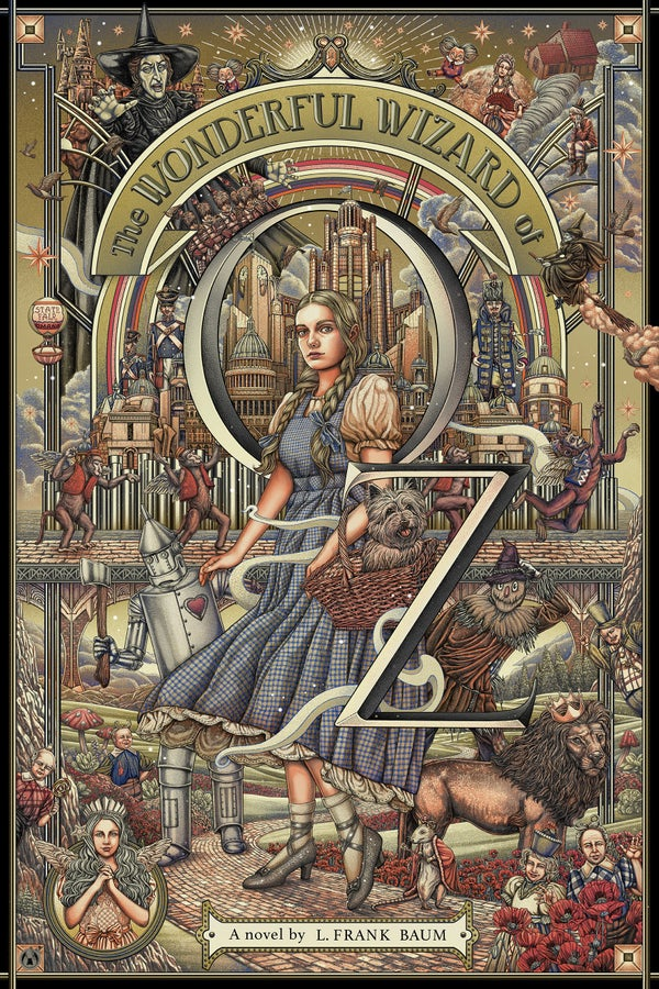 Image of The Wonderful Wizard Of Oz Platinum Variant by Ise Ananphada