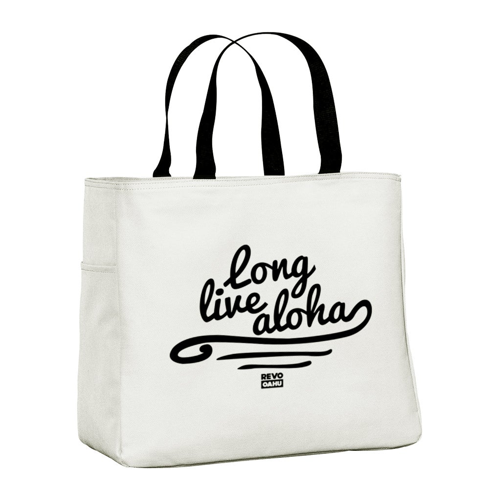 "Image of LLA ""Waves"" Shopper Tote Bag - Stone"