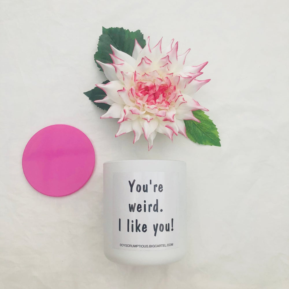 Image of VOGUE QUOTE CANDLE