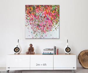Image of 'Teneritas flor' - 100x100cm