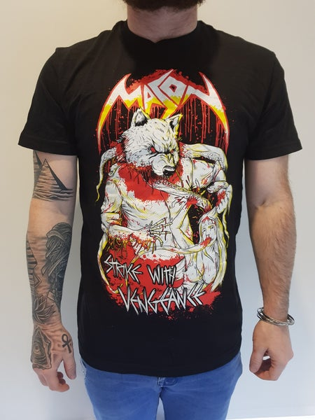 Image of Mason - Strike With Vengeance Tee