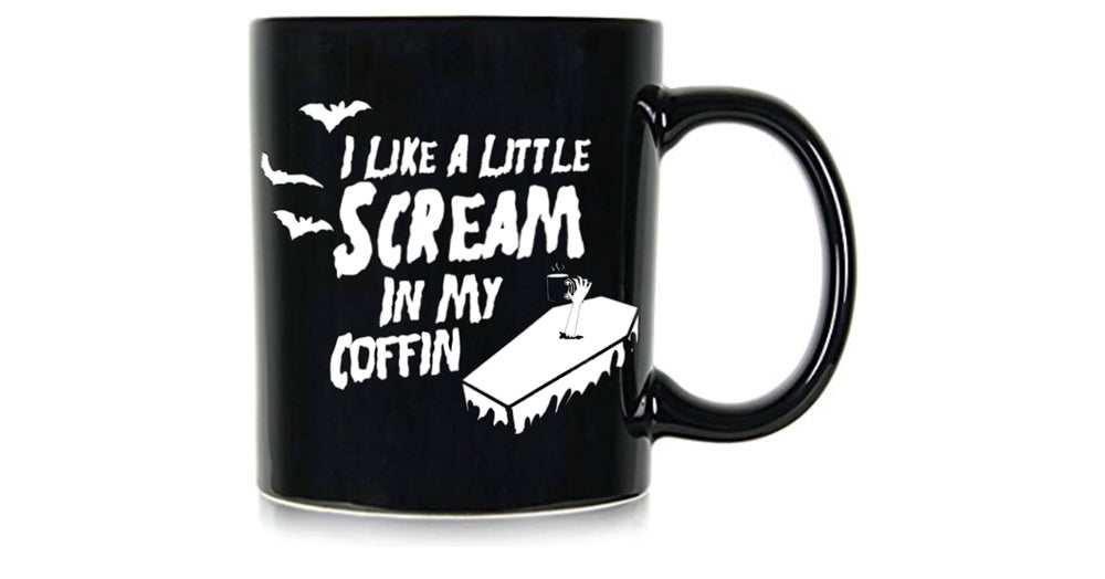 Image of Scream In My Coffin Mug