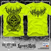 Image of VULVODYNIA - Slam Death NEON (Safety Green) - Tshirt