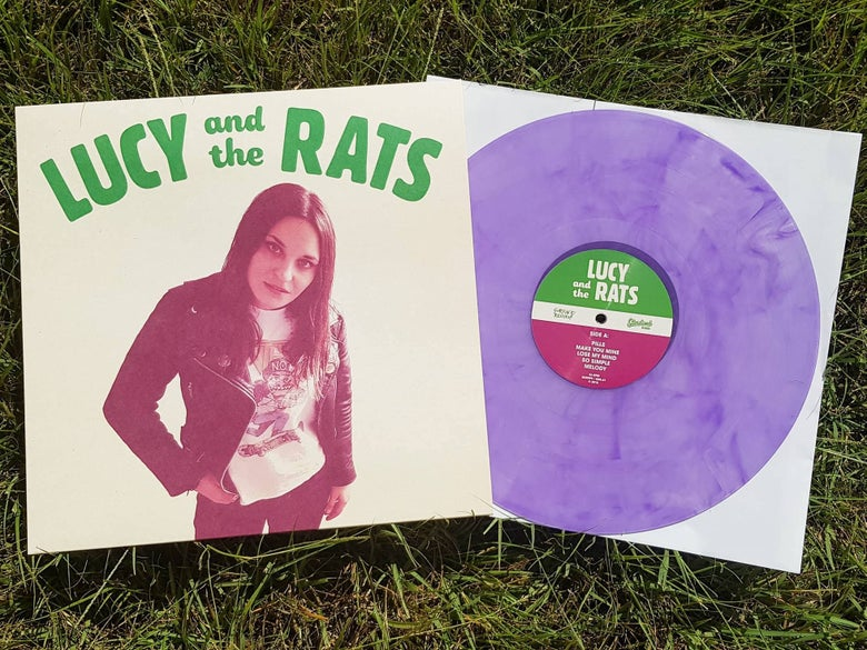 Image of LUCY AND THE RATS S/T LP - 2ND PRESS!!