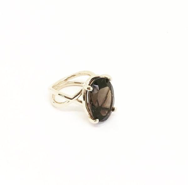 Image of 9ct Gold Athena Ring