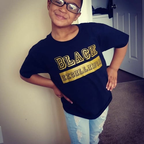 Image of (Youth) Black Excellence Unisex Sweatshirt & T-Shirt