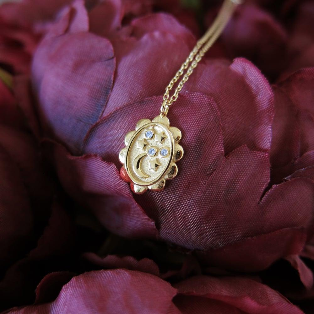 Image of Galaxy Memento necklace