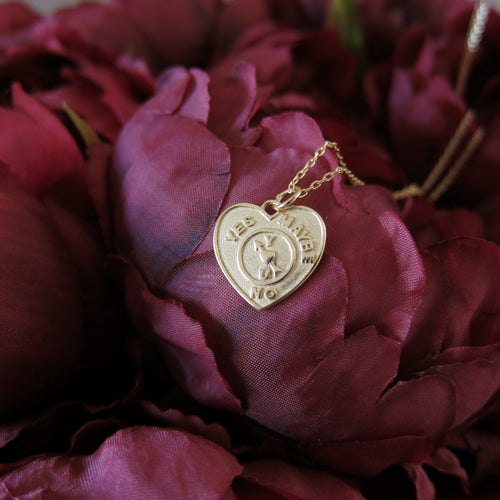 Image of Love Spinner necklace