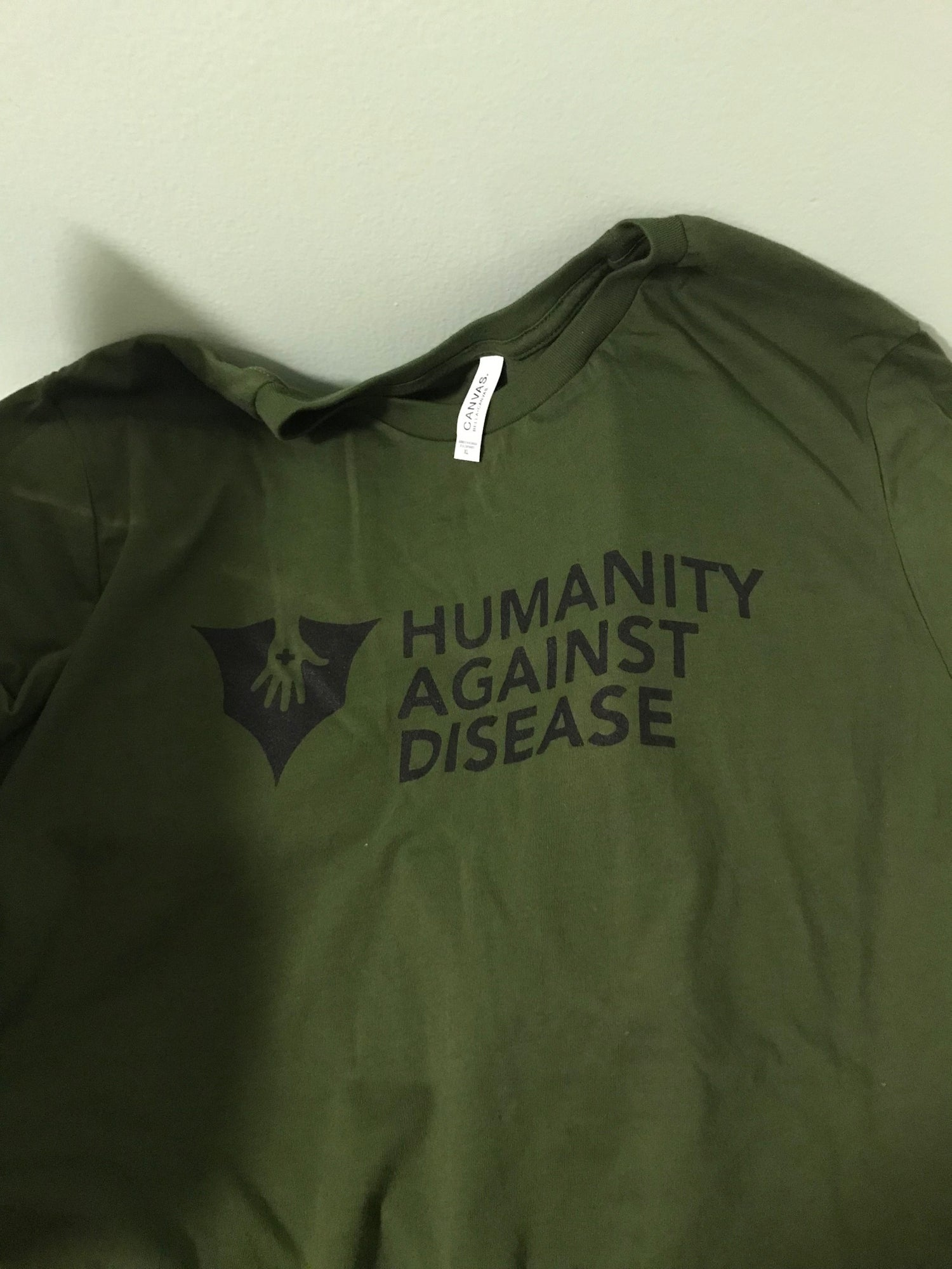 Image of Humanity Against Disease: The T-Shirt