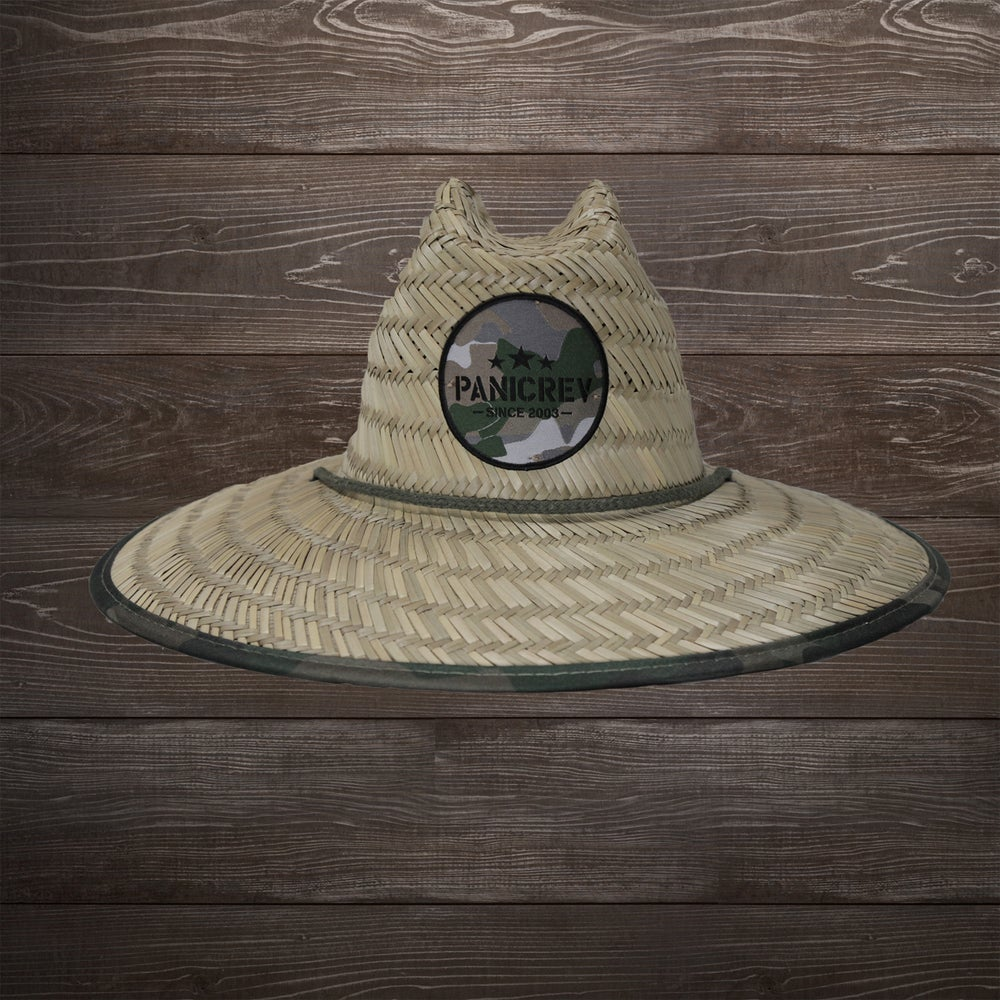 Image of Paradise Camo Straw Lifegaurd Hat
