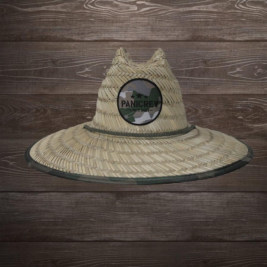 Image of Paradise Camo Straw Lifegaurd Hat