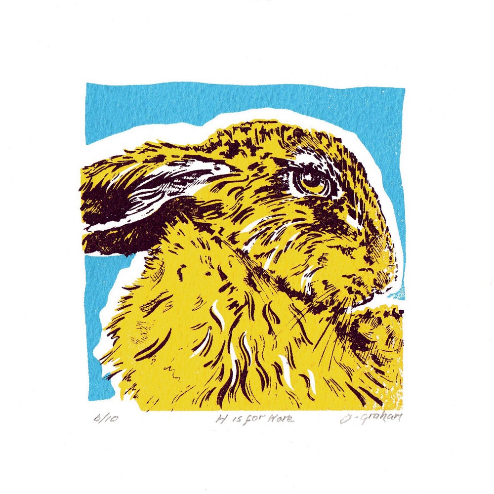 Image of H is for Hare