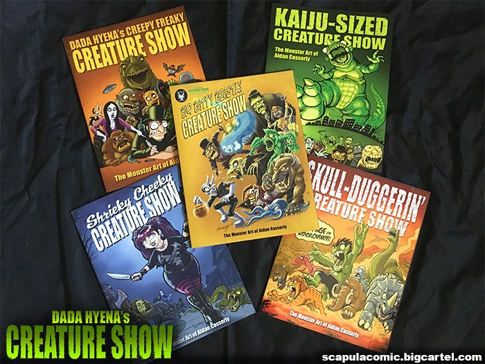 Image of Dada Hyena's Creature Show - The Complete Series