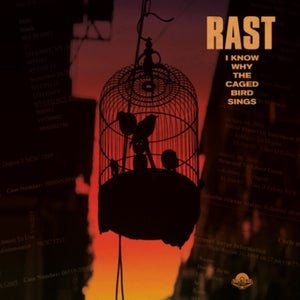 "Image of RAST & 7L ""I KNOW WHY THE CAGED BIRD SINGS"" LP (Black Vinyl) PRE-ORDER"