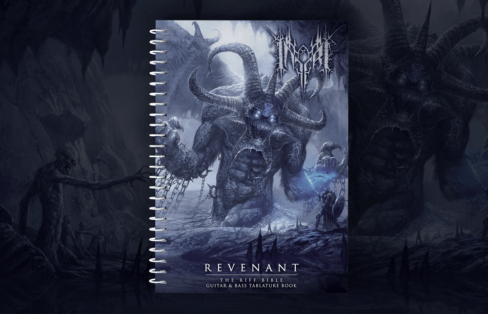 Image of [PRE-ORDER] INFERI - Revenant Tablature Riff Bible