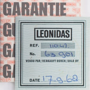 Image of LEONIDAS 1968 Stopwatch