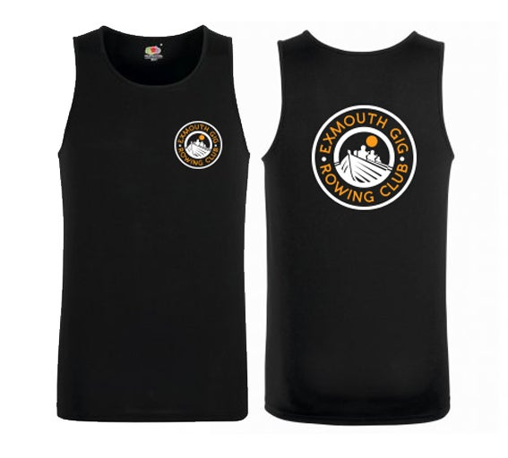 Image of Exmouth Gig Club Mens Fruit of the Loom Performance Vest
