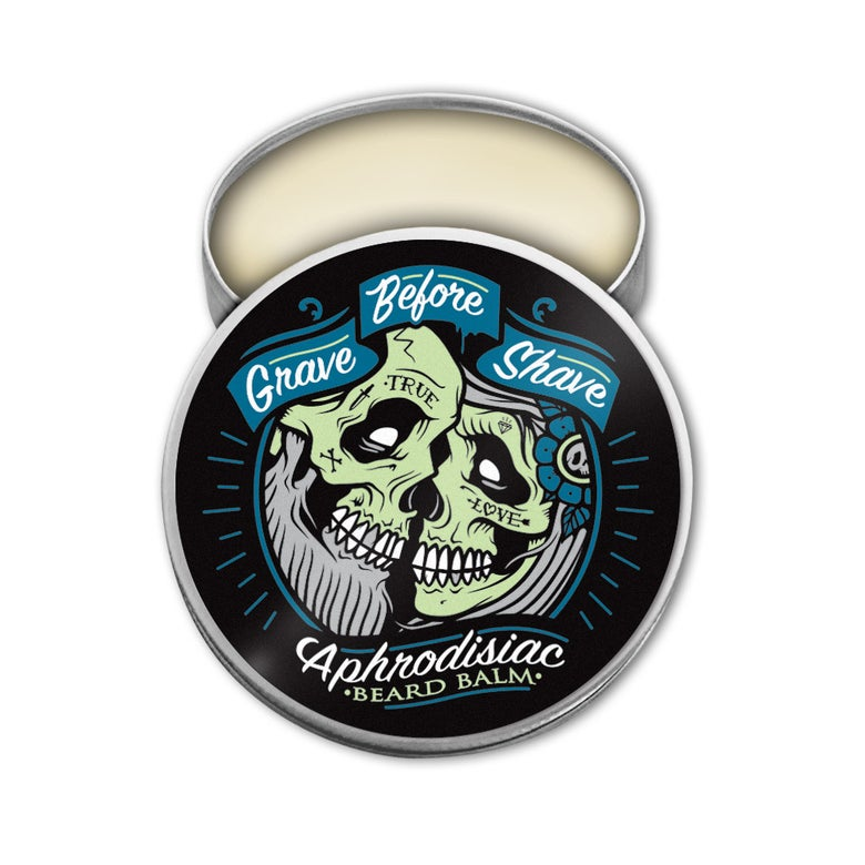Image of GRAVE BEFORE SHAVE Aphrodisiac Blend Beard Balm 2 oz.
