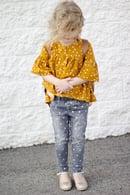 Image 2 of the EMMA top/tunic/dress GIRL'S PDF pattern
