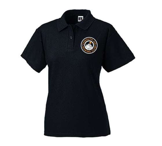 Image of Exmouth Gig Club Ladies Fit Polo Shirt