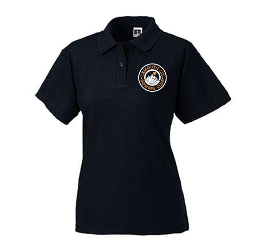 Image of Exmouth Gig Club Ladies Fit Polo Shirt