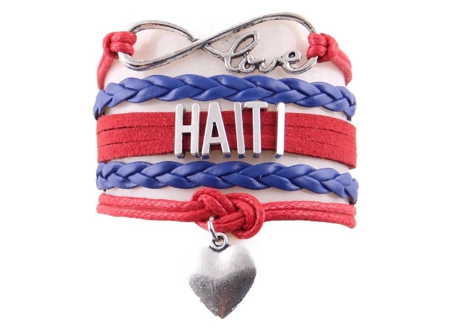 Image of Haiti Blue and Red Bracelet