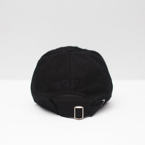 Image of Lion Soul Dad Hat (Black)