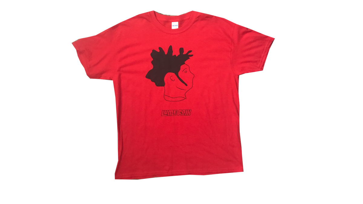 Image of Lume Folk Red Tee