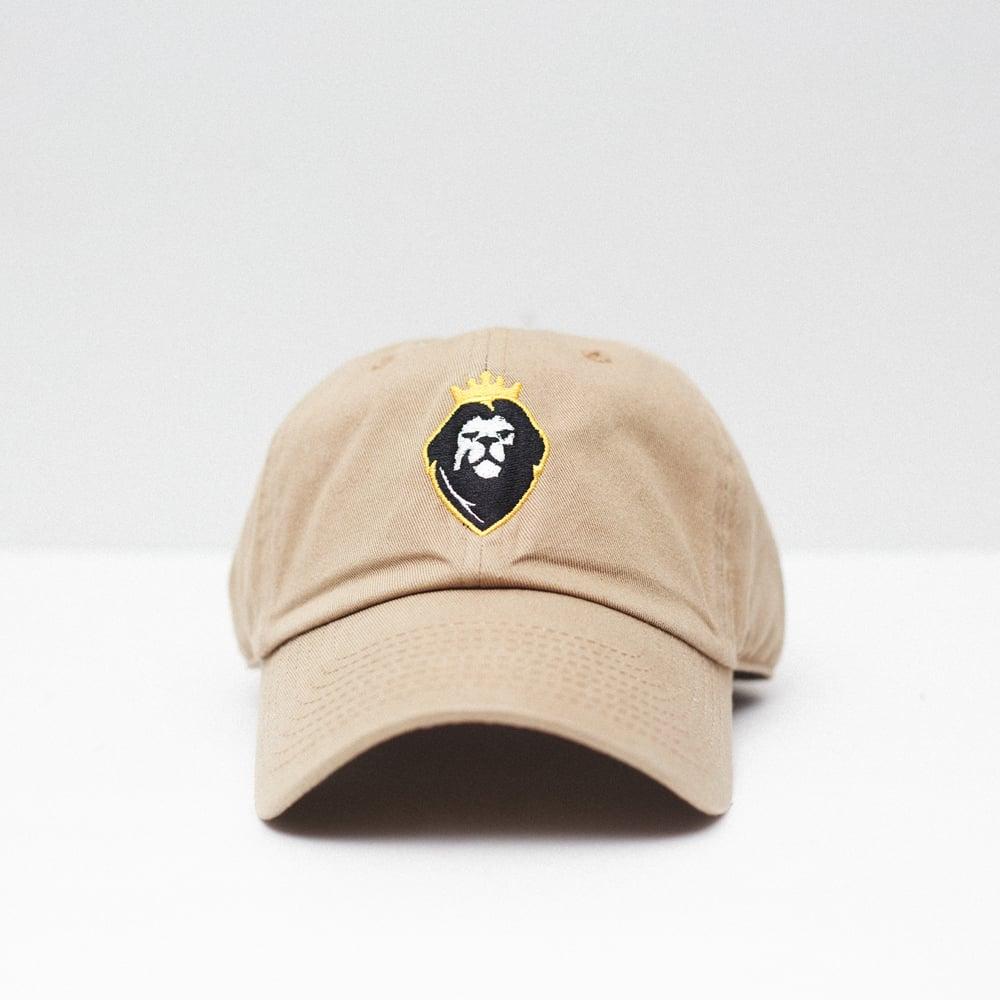 Image of Lion Soul Dad Hat (Tan)