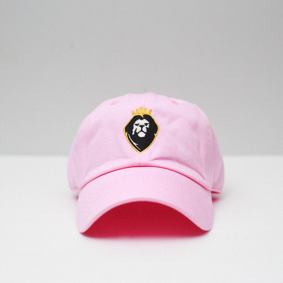 Image of Lion Soul Dad Hat (Pink)