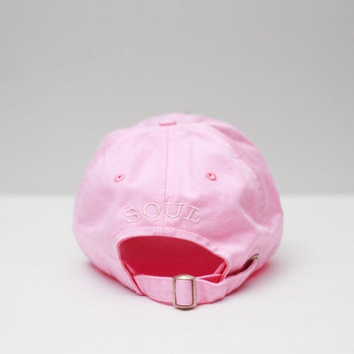 Image of Lion Soul Dad Hat (Pink)