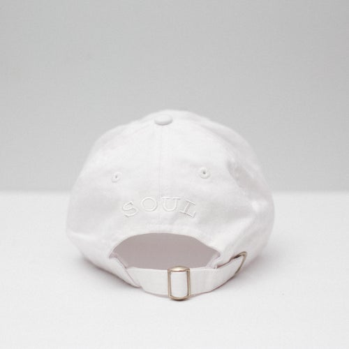 Image of Lion Soul Dad Hat (White)