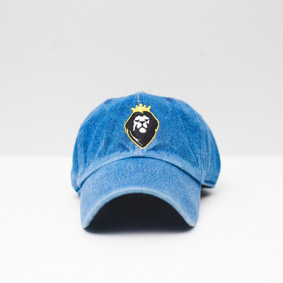 Image of Lion Soul Dad Hat (Denim)