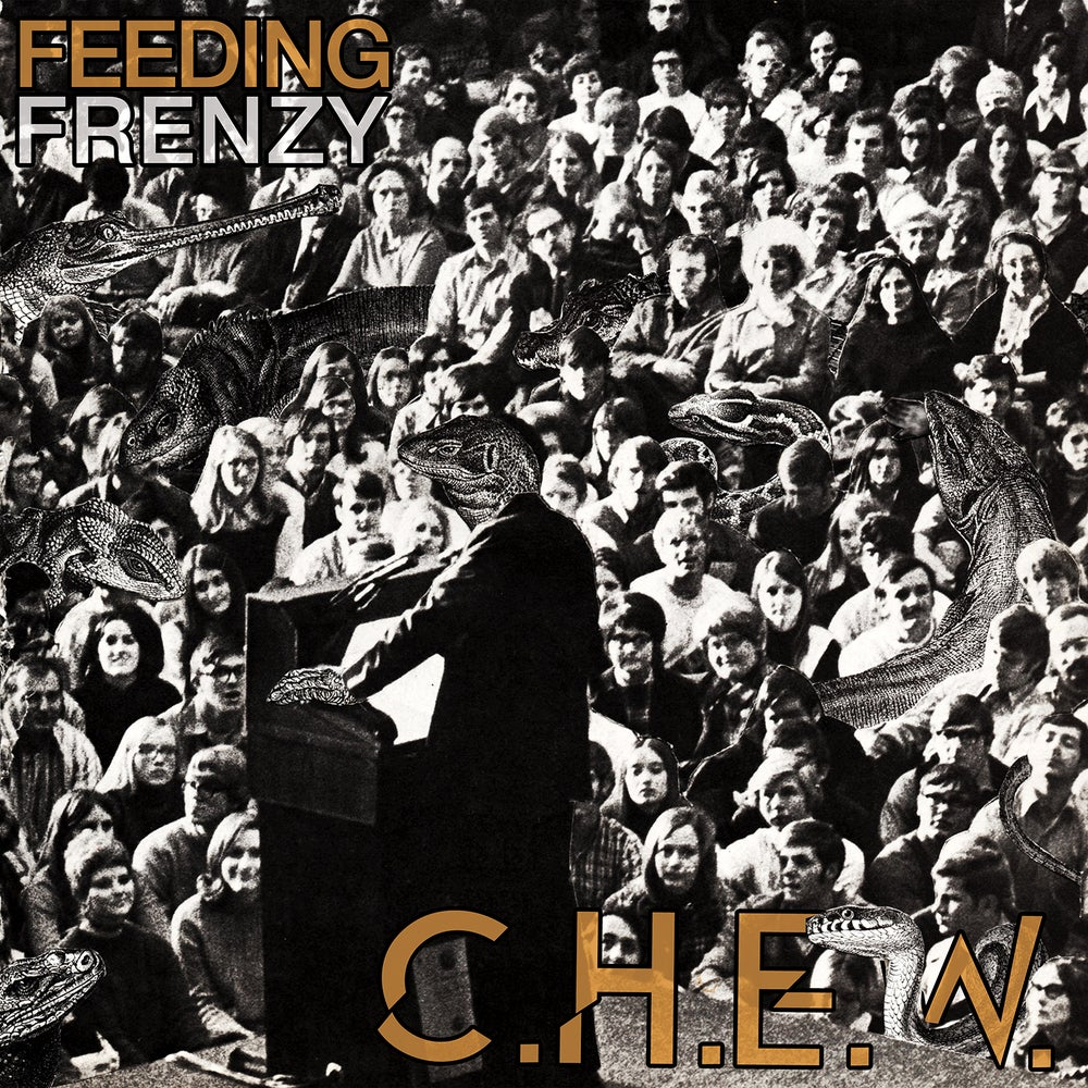 Image of C.H.E.W. - Feeding Frenzy LP