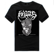"Image of HAGGUS ""masked and mincing"" T-Shirt"