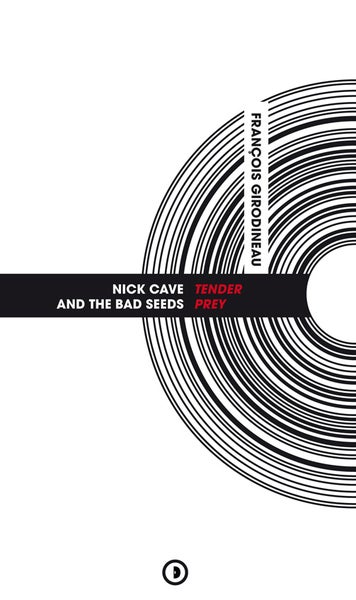 Image of « Nick Cave and The Bad Seeds Tender Prey » par François Girodineau